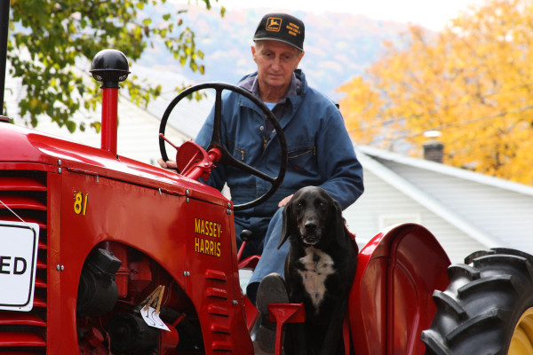 Farmer and His Best Friend