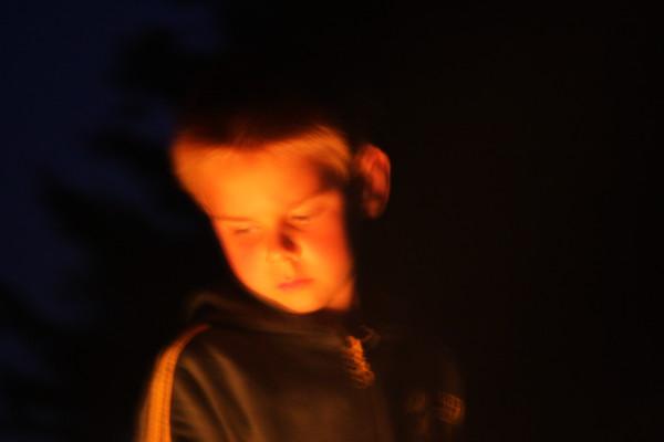 Fireside Portrait