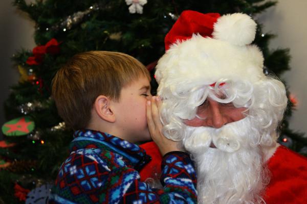 Santa ,  child's wish