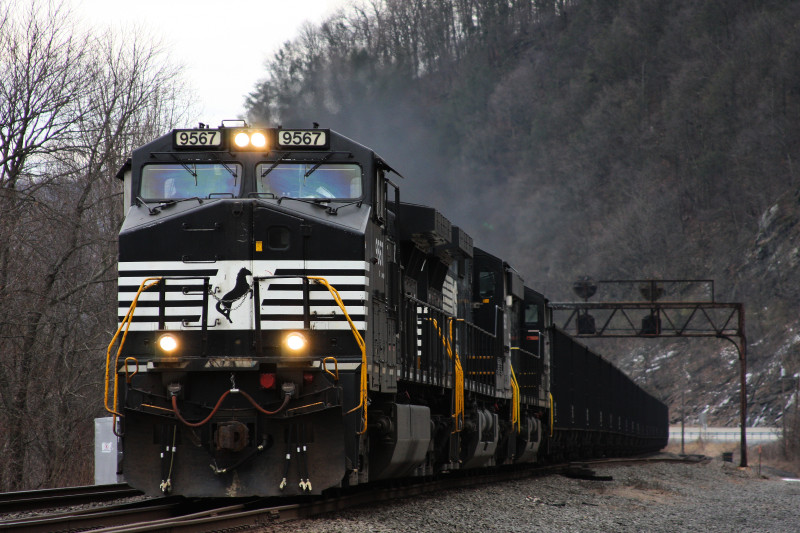 Coal Train Norfolk Southern