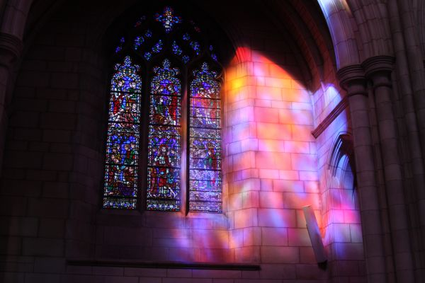 God Speaking Through Glass