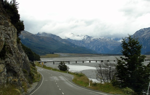On the Road through Arthurs Pass.