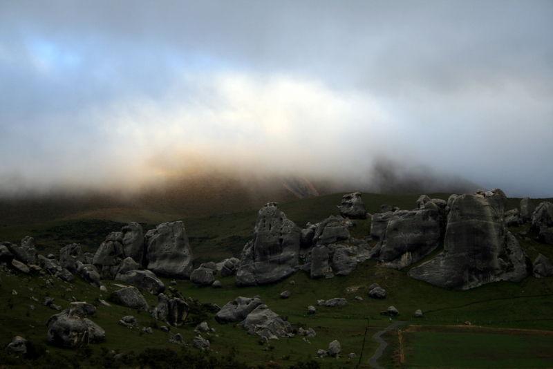 casle hill, rocks