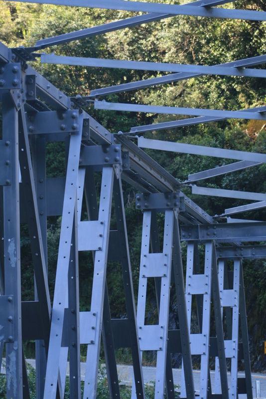 Haast bridge gorge