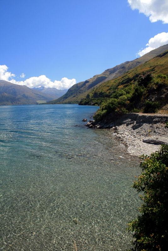 Lakeside of Wanaka.