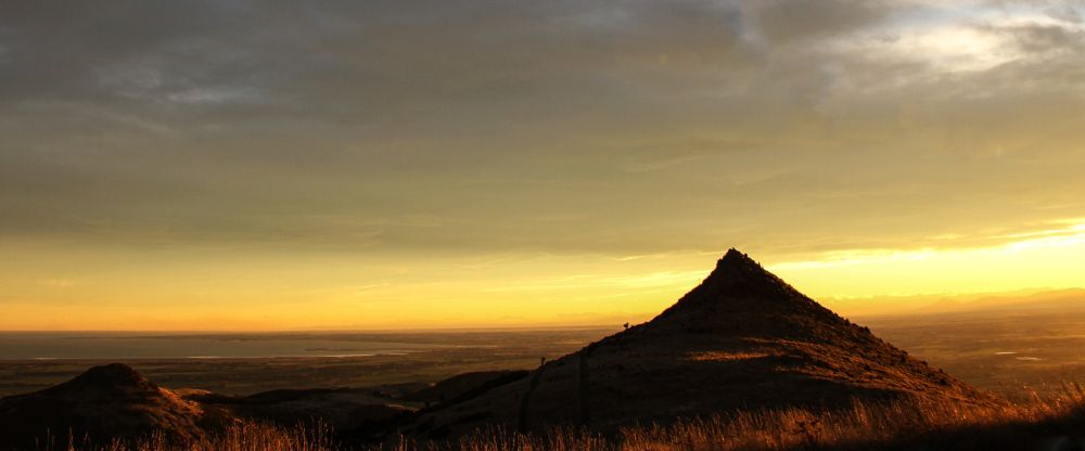 From the Port Hills to Ellesmere at dawn