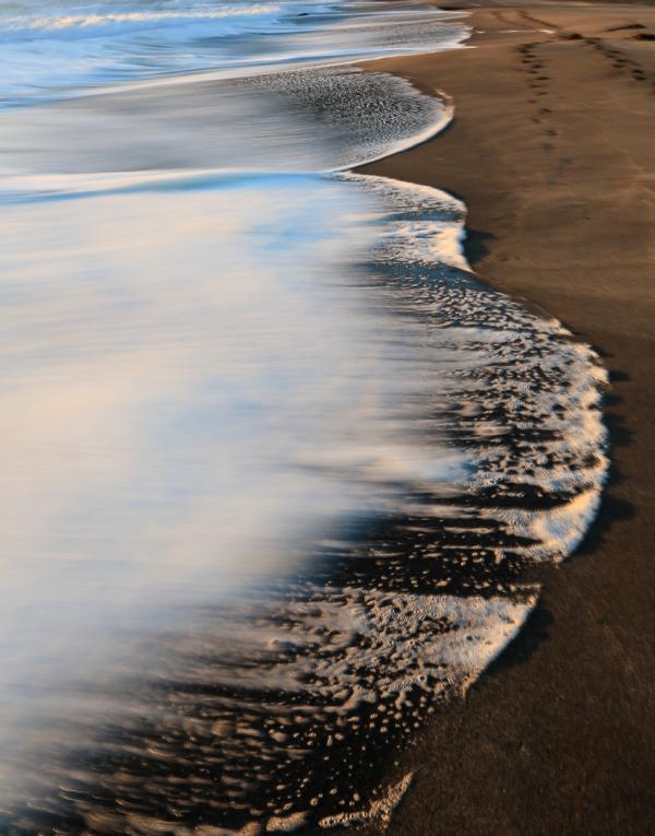 Sea foam curves