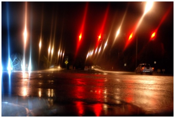 Rainy Night Lights
