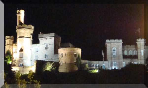 Inverness Castle at Midnight