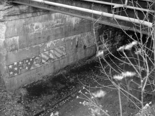 Railroad bridge outside of White Haven, PA