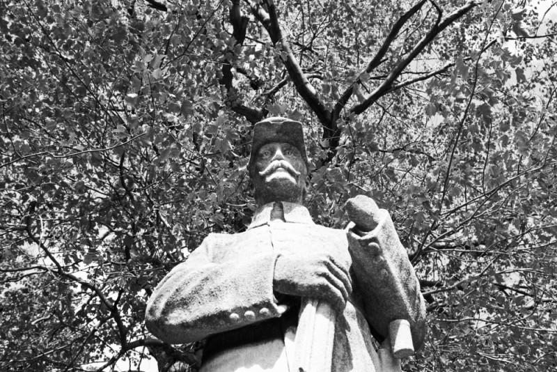 Statue in this cemetery in Wilkes-Barre.