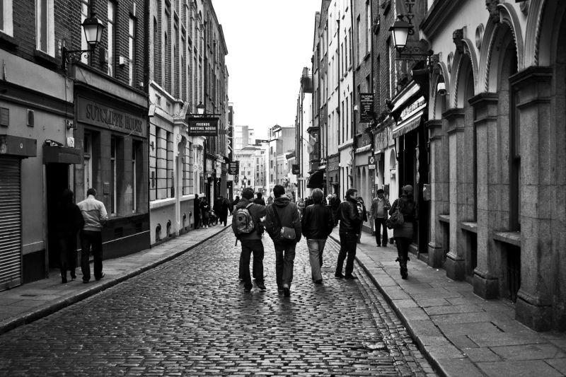 Street in Dublin.