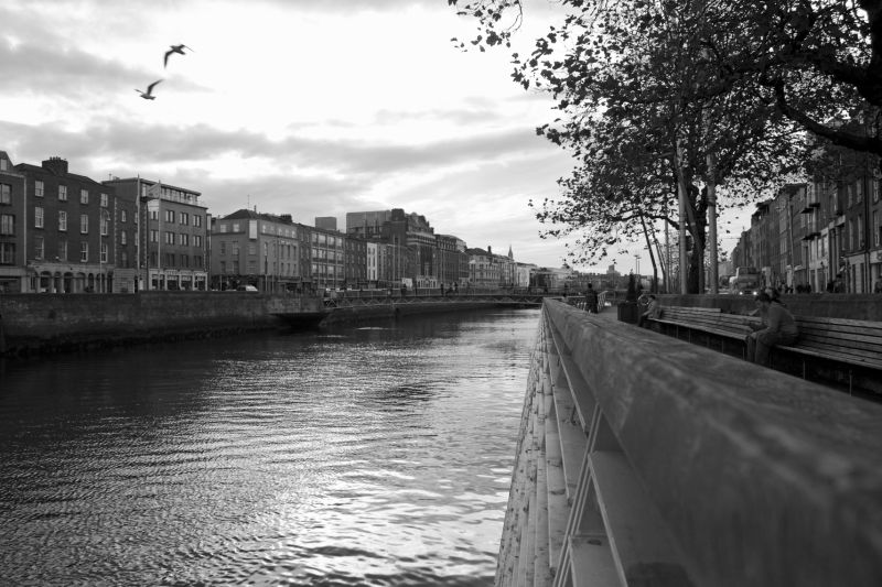 River in Dublin.