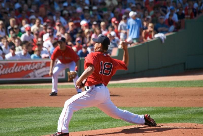 Red-Sox Pitcher Daisuke Matsusaka