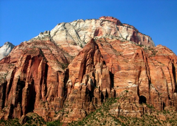 Mountains in Zion National Park- Utah