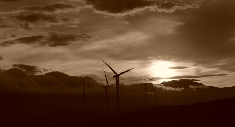 Sunset in Manjil