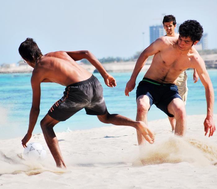 Match on the Beach!