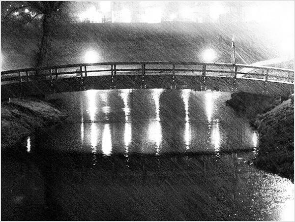 Deštivý most