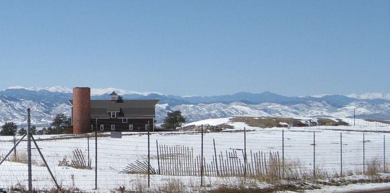 Snowy Barn 2