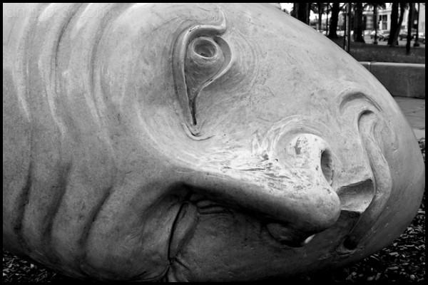 Egghead Sculpture, San Francisco Embarcadero, CA