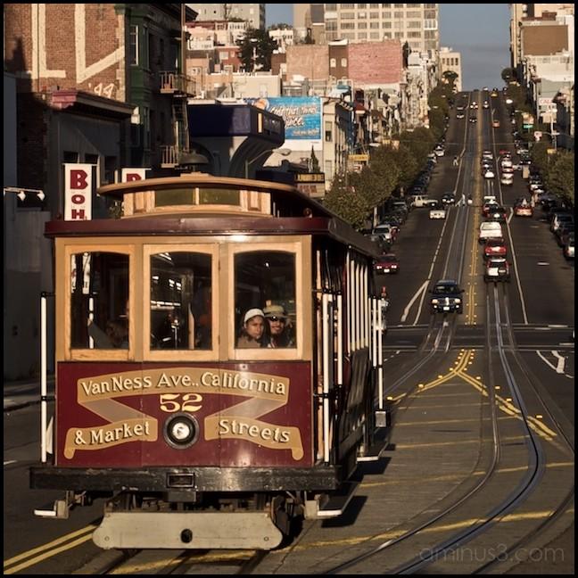 California Street Cable Car, San Francisco CA