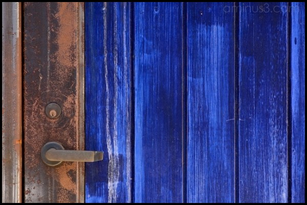 Blue Door, West-Side Berkeley CA