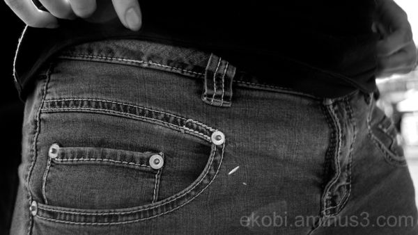Denim Pocket Detail, Tiburon CA
