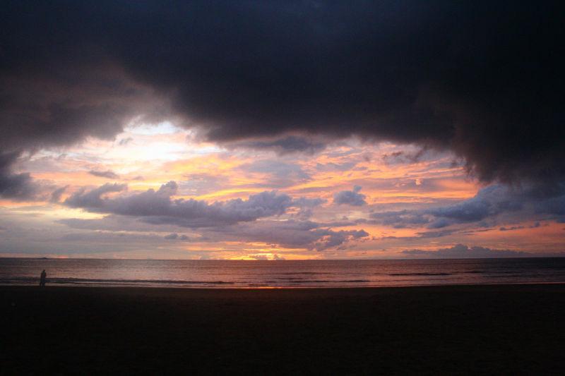 Sunset at Kudle Beach