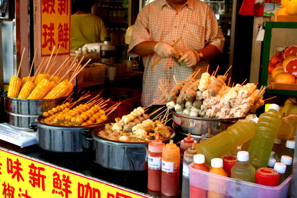 Chinese Food Stand