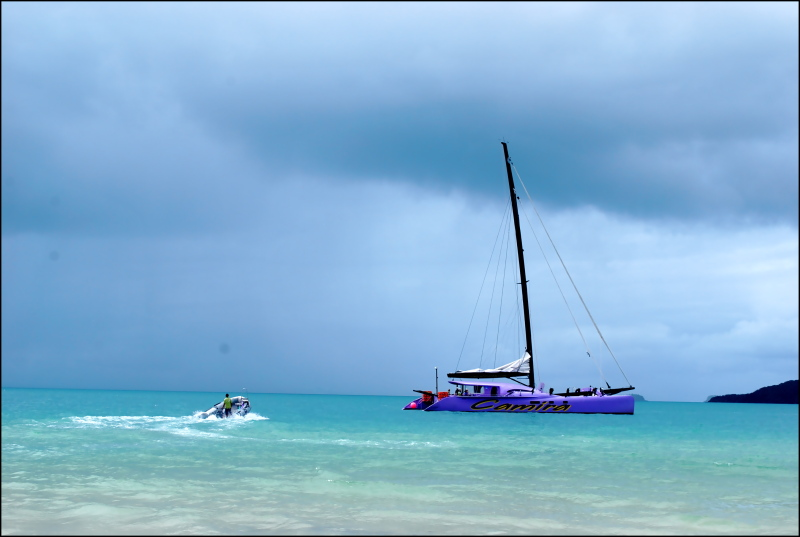 Sailing at WhitSunday