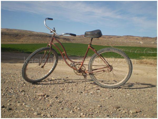 A bike on a farm