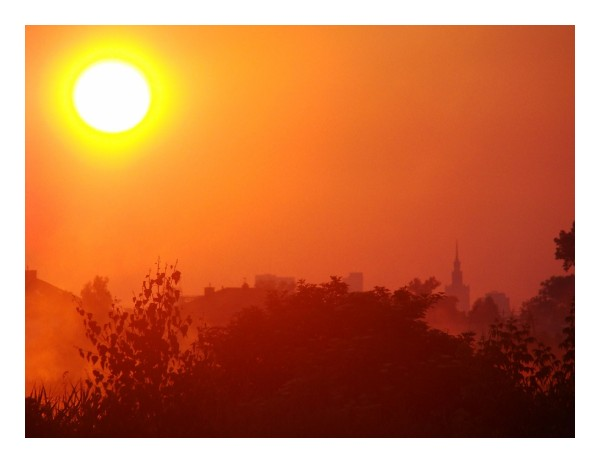 warsaw sunrise komorow gadabout