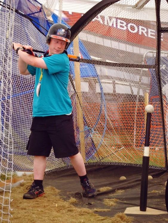 Elliot at the Jamboree
