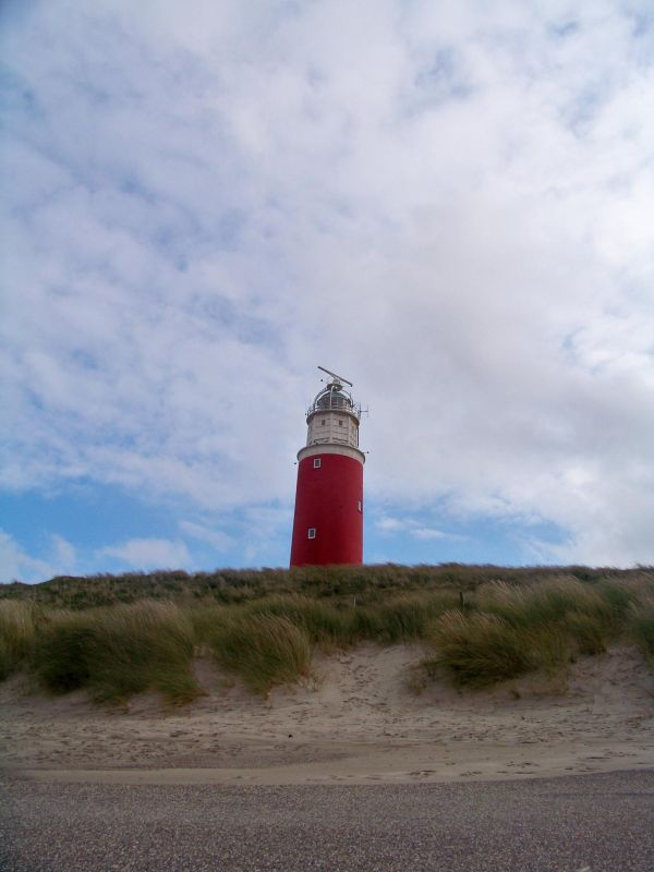 texel dune and lighthouse