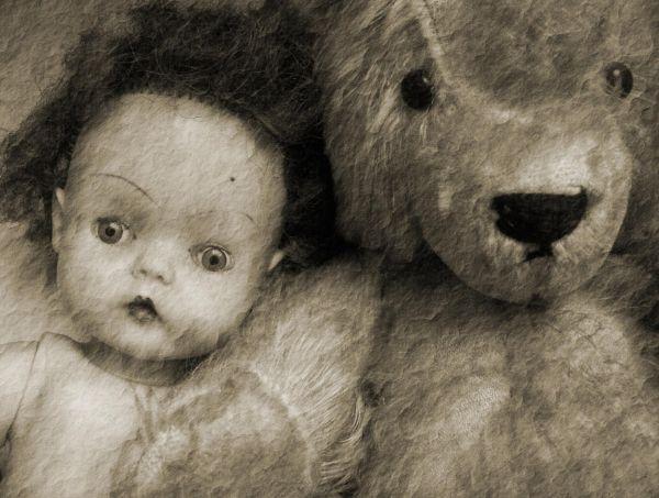 doll and bear