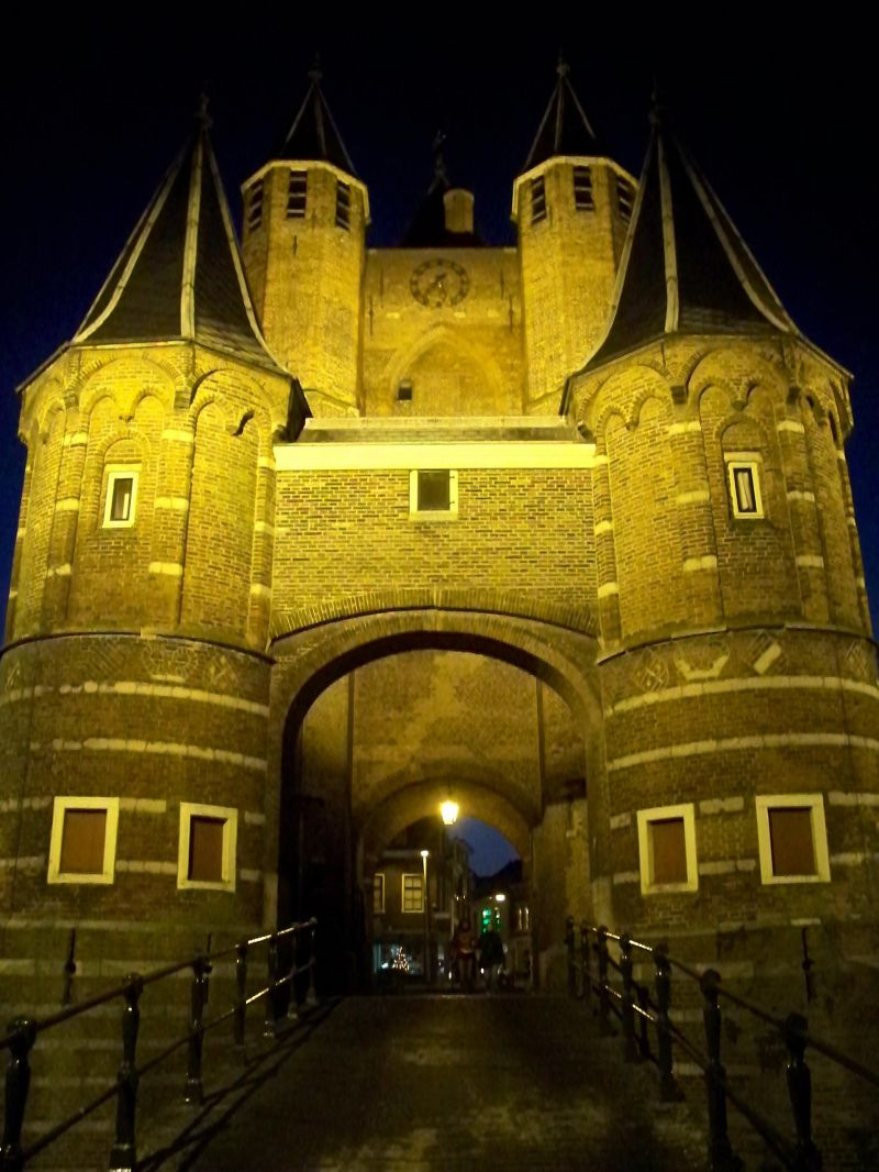 amsterdamse poort haarlem - enter the city