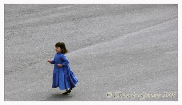 A Menina de Azul