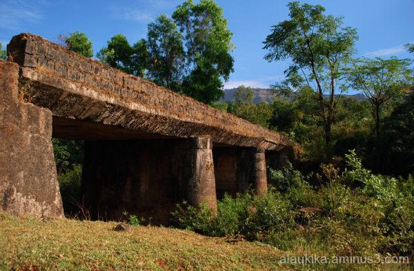 Bridge to Rajgarh Fort
