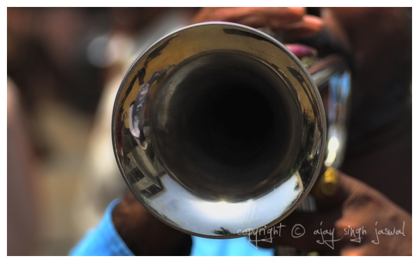 Reflection in a Trumpet