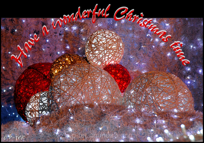 Have a wonderful Christmas time