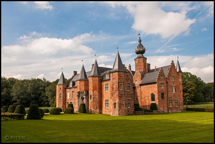 Castle of Rumbeke Roeselare Belgium