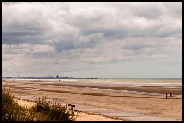 North Sea seaport zeehaven Zeebrugge belgië