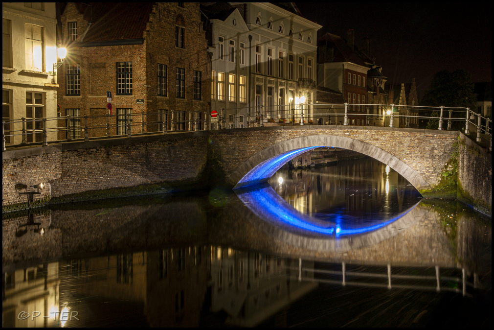 Brugge Bruges Bruggen Bridges Nacht Night