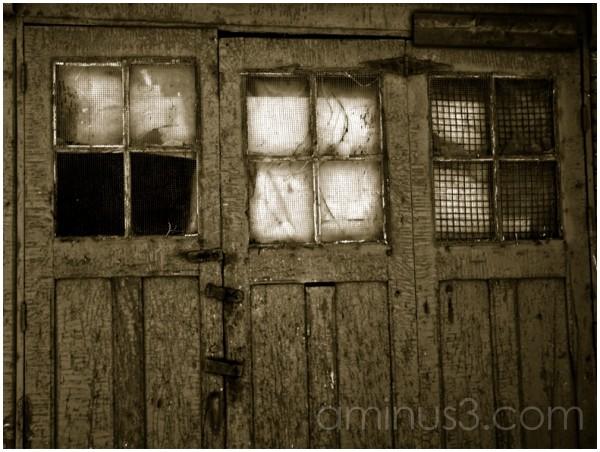 Behind the door...