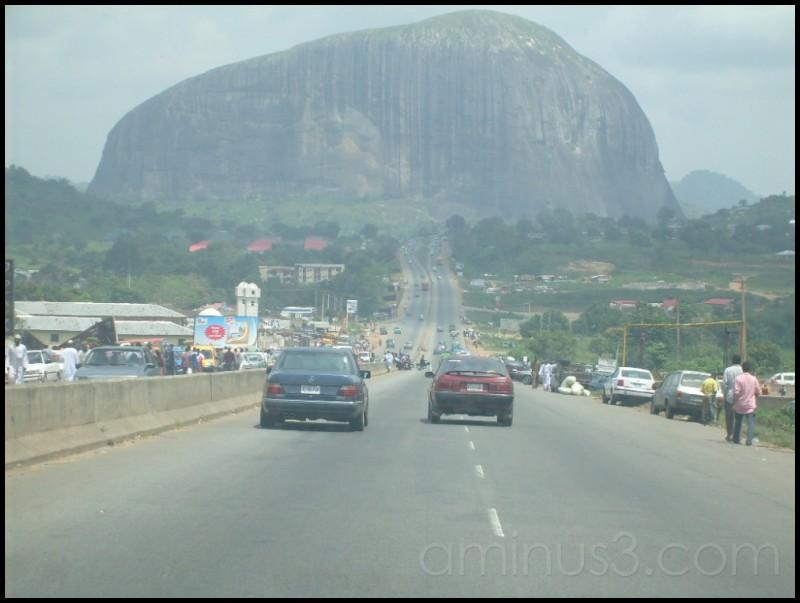 Facing Zuma Rock