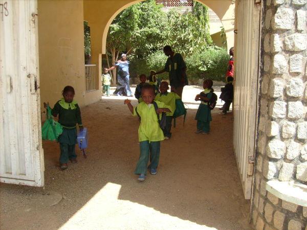 School children Kano Nigeria