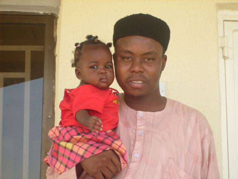 Father and Daughter in Zamfara