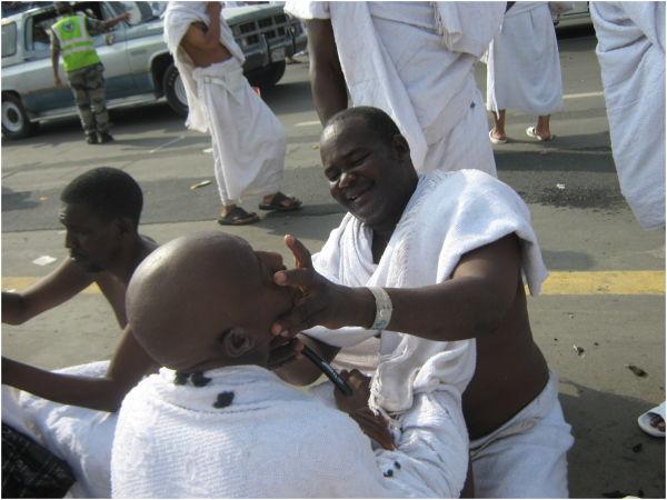 Shaving in Hajj
