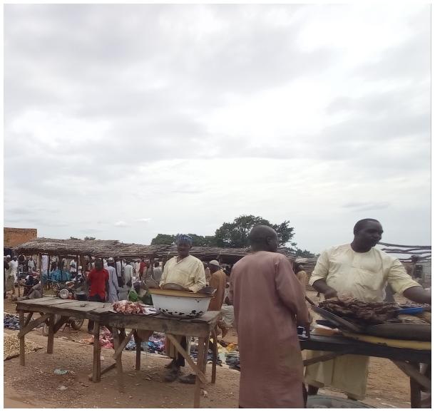 Rural Market, Nigeria