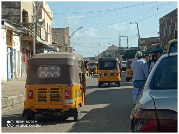 A street in Kano city
